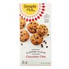 Simple Mills, хрустящее печенье с миндальной мукой и шоколадной крошкой, 156г (5,5унции)