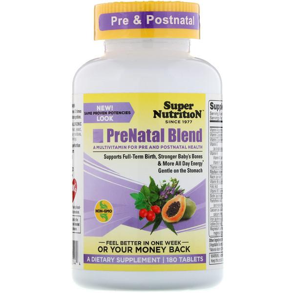 Смесь PreNatal, 180 таблеток