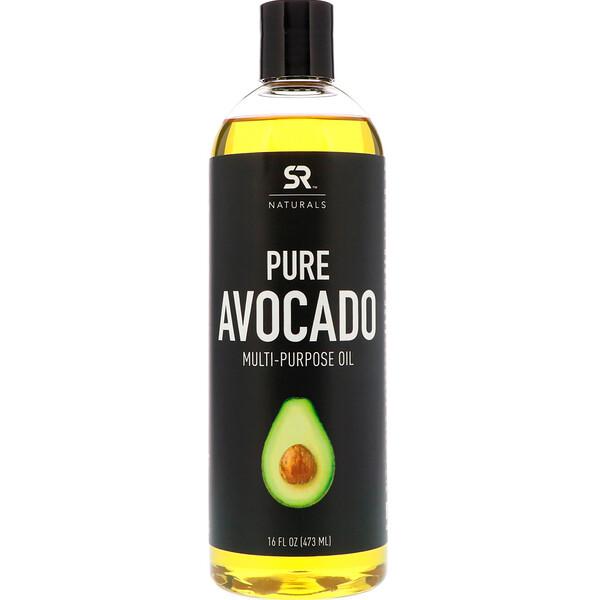 Универсальное натуральное масло авокадо, 16 ж. унц. (473 мл)