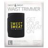 Sports Research, Sweet Sweat, пояс для похудения, большой, черный и желтый, 1шт.
