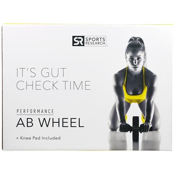 Гимнастическое колесо АБ + Подкладка для Коленей