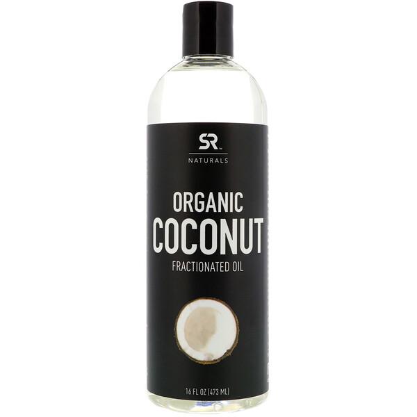Sports Research, Органическое фракционированное кокосовое масло, 16 ж. унц. (473 мл)
