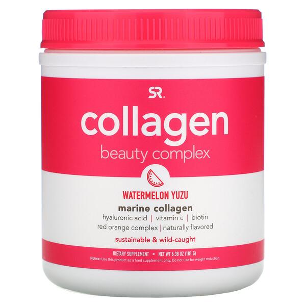 Collagen Beauty Complex, Marine Collagen, Watermelon Yuzu, 6.38 oz (181 g)