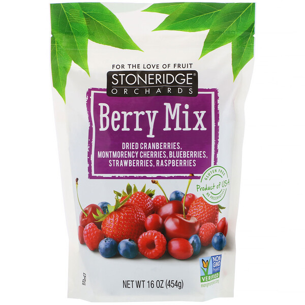 Stoneridge Orchards, Berry Mix, 16 oz (454 g)