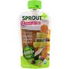 Sprout Organic, Детское питание, этап2, морковь, нут, цуккини и груша, 99г