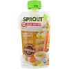 Sprout Organic, Детское питание, этап2, овощи с грядки и груша, 99г