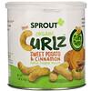 Sprout Organic, Curlz, сладкий картофель и корица, 1,48 унц. (42 г)