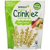 Sprout Organic, Crinklez, хрустящий овощной снек, сыр и шпинат, 42г