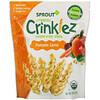 Sprout Organic, Crinklez, хрустящий овощной снек, тыква и морковь, 42г