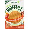 Sprout Organic, Вафли Wafflez, яблоко, морковь и корица, 5упаковок, 18г