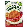 Sprout Organic, Wafflez, Pumpkin Butter & Jelly, 5 Packets, 0.63 oz (18 g)