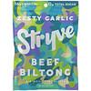 Stryve Foods, Beef Biltong, Air-Dried Beef Slices, Zesty Garlic, 2.25 oz (64 g)