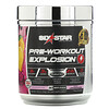 Six Star, Pre-Workout Explosion, Pink Lemonade, 7.41 oz (210 g)