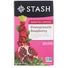 Stash Tea, Green Tea & Matcha, Pomegranate Raspberry, 18 Tea Bags, 1.2 oz (36 g)