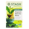 Stash Tea, Зеленый чай, органический чай матча, 18 чайных пакетиков, 1,2 унц. (36 г)