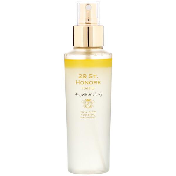 29 St. Honore, Facial Glow Nourishing Ampoule Mist, Propolis & Honey, 150 ml