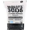 Molly's Suds, Стиральный порошок, суперконцентрированный, без отдушек, 47 унц. (1,33 кг)