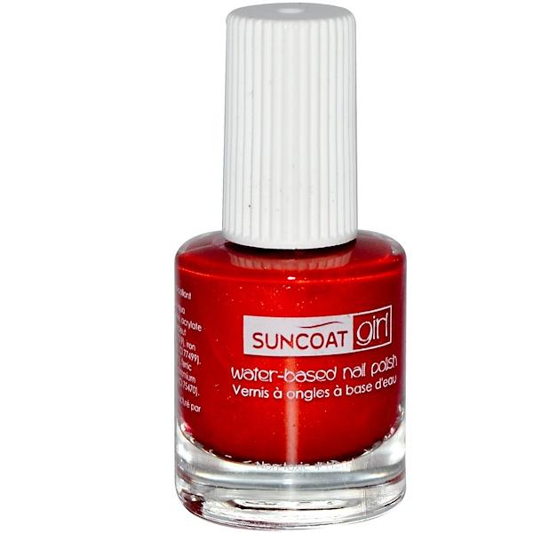 SuncoatGirl, Water-Based Nail Polish, Golden Sunlight, 0.27 oz (8 ml) (Discontinued Item)