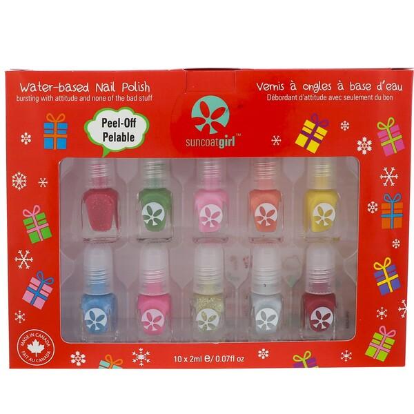 Набор мини-лаков для ногтей Merry Mini, Mani, 10 шт.