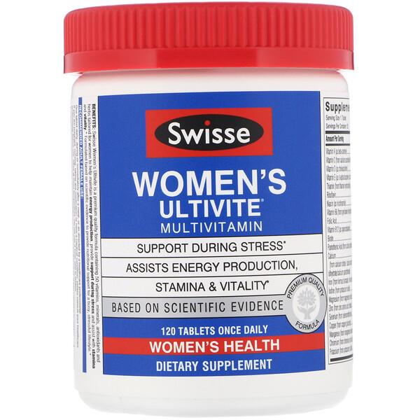 Women's Ultivite, мультивитамины, 120 таблеток