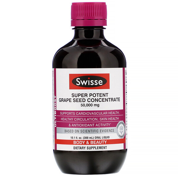 Ultiboost, Super Potent Grape Seed Concentrate, 50,000 mg, 10.1 fl oz (300 ml)