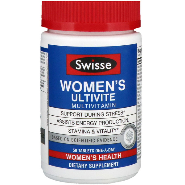 Swisse, Women's Ultivite Daily Multivitamin, 50 Tablets (Discontinued Item)