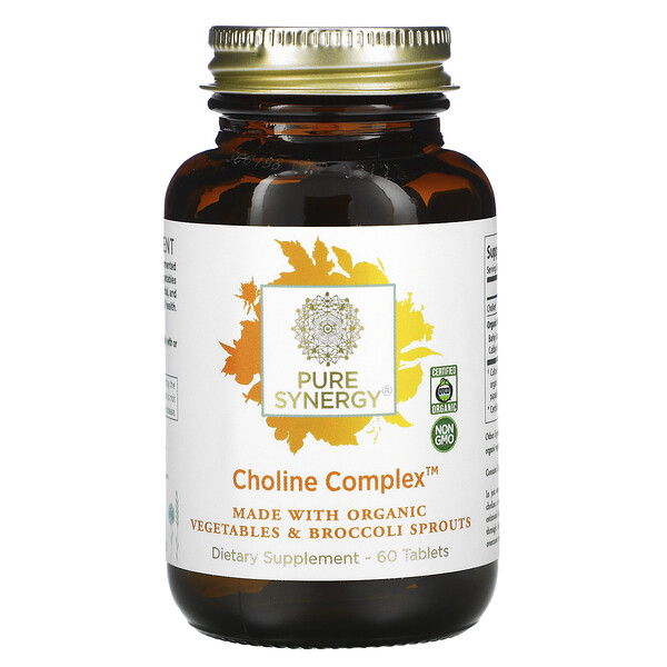 Pure Synergy, Choline Complex, 60 Tablets