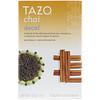 Tazo Teas, Чай без кофеина, естественным образом декофеинированный черный чай, 20 фильтр-пакетов, 1,9 унции (54 г)