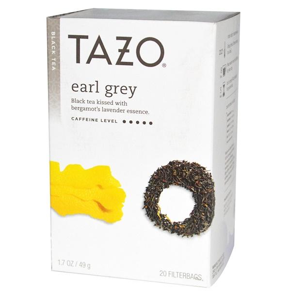 Tazo Teas, Черный чай с бергамотом, 20 пакетиков, 1,7 унции (49 г) (Discontinued Item)