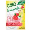 True Citrus, Настоящий лимон, клубничный лимонад, 10 пакетиков, 1,06 унц. (30 г)