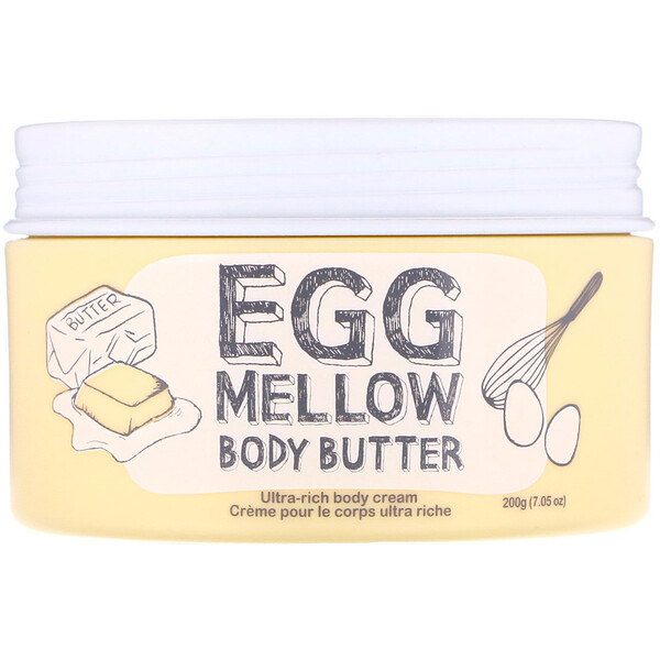 Масло для тела Egg Mellow Body Butter, 7,05 унц. (200 г)
