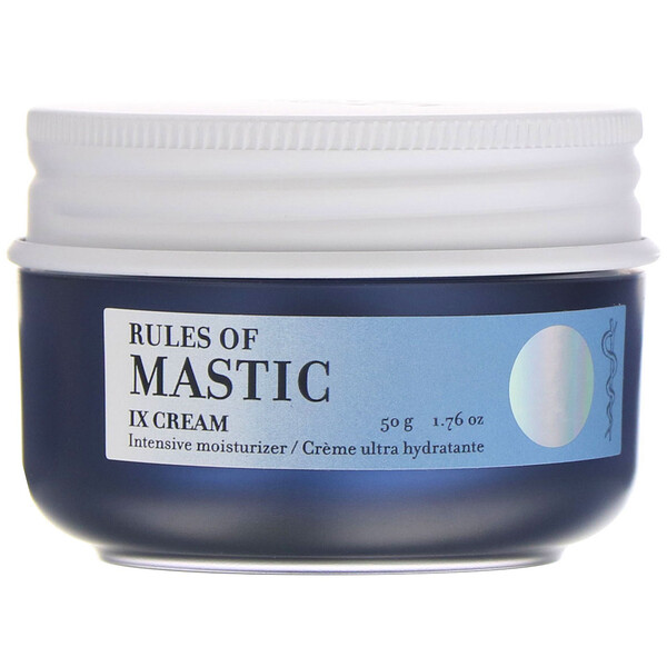 Rules of Mastic, IX крем для лица, 50 г (1,76 унции)