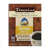 Teeccino, Обжаренный травяной чай, средняя обжарка, фундук, не содержит кофеина, 10 чайных пакетиков, 60 г