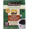 Teeccino, Органический обжаренный травяной чай, со вкусом шоколада, темная обжарка, без кофеина, 10 чайных пакетиков, 60 г