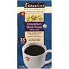 Teeccino, Органический жареный травяной чай, одуванчик сильной обжарки, без кофеина, 25 чайных пакетиков, 150 г
