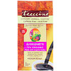 Teeccino, Травяной кофе с цикорием, средняя обжарка, без кофеина, миндальный амарето, 11 унц. (312 г)
