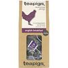 TeaPigs, Morning Glory, English Breakfast, 15 Tea Temples, 1.76 oz (50 g)