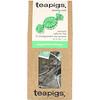TeaPigs, Minty Cool, Peppermint Leaves, Caffeine Free, 15 Tea Temples, 1.1 oz (30 g)