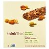 ThinkThin, Белковые ореховые батончики, оригинальный жареный миндаль, 10 батончика, по 38,5 г каждый