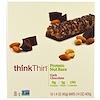 ThinkThin, Протеиновые ореховые батончики, темный шоколад, 10 батончиков, 1,4 унции (40 г) каждый