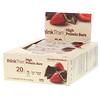ThinkThin, батончики с высоким содержанием белка, шоколад и клубника, 10 батончиков, весом 60 г (2,1 унции) каждый