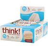 ThinkThin, Батончики с высоким содержанием белка, кокосовый торт, 10батончиков, 60г (2,1унции) каждый