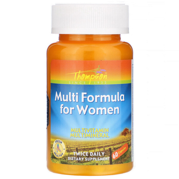 Мульти-формула для женщин, 60 капсул