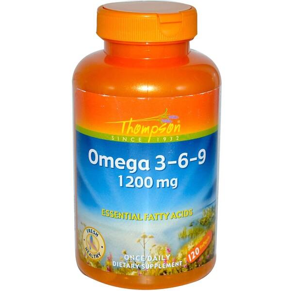 Омега 3-6-9, 120 гелевых капсул