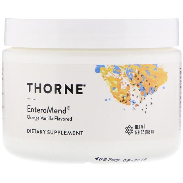 Thorne Research, EnteroMend, со вкусом апельсина и ванили, 168 г (5,9 унции)