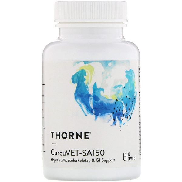 Thorne Research, CurcuVET-SA150, 90 Capsules (Discontinued Item)