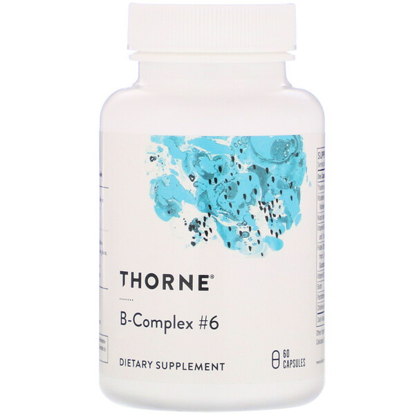 Thorne Research, B-Complex #6, 60 капсул