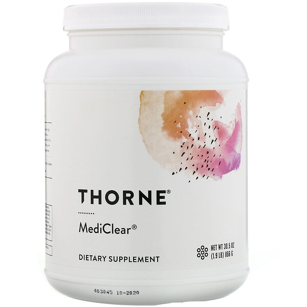 Thorne Research, MediClear, 866 г (30,5 унции)