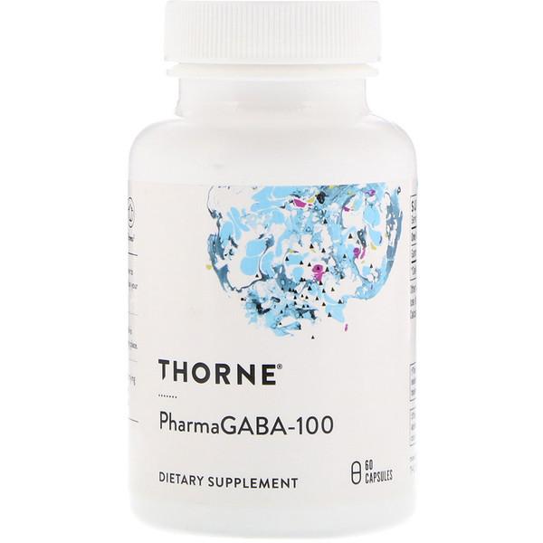 PharmaGABA-100, 60 капсул