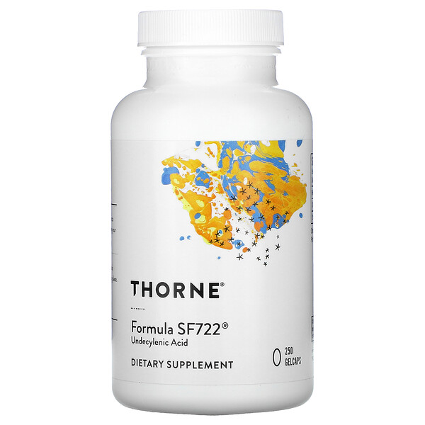 Thorne Research, Formula SF722, 250желатиновых капсул